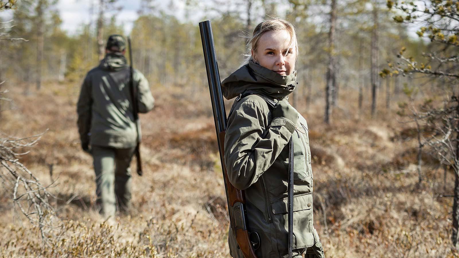 Anar Garra Green naisten metsästyspuku