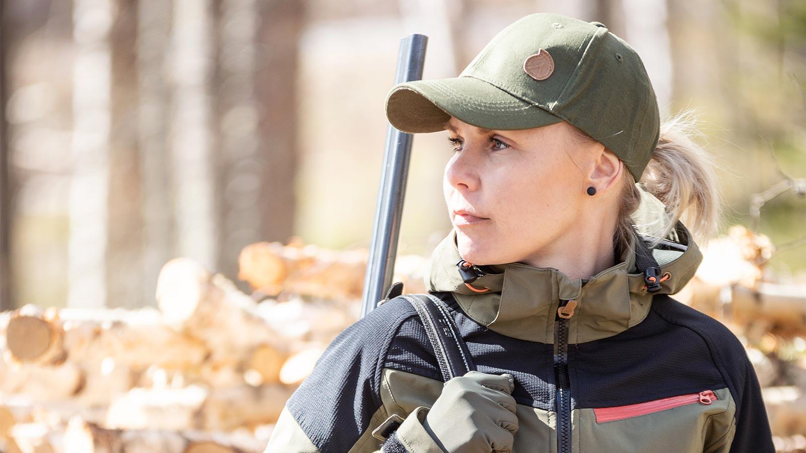 Anar Magga Green naisten metsästystakki
