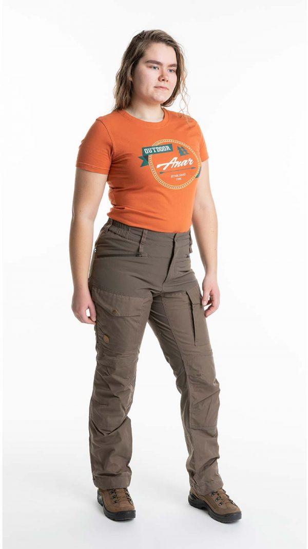 Anar Garra Curved naisten housut